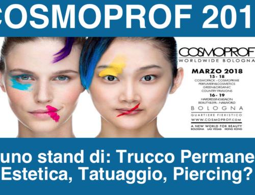 Aziende di trucco permanente-tatuaggio, presentate il Manuale di Igiene al Cosmoprof 2018