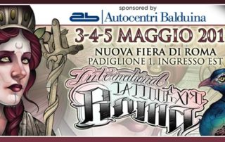 International Tattoo Expo in Rome 3-4-5 May 2019